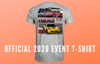 Corvettes At Carlisle 2020 Shirt Available For Pre-Order